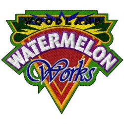 watermelon works embroidery