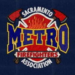 METRO-ASSOCIATION embroidery