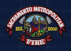 embroidery for sacramento metropolitan fire